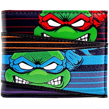 Cartera de Teenage Mutant Ninja Turtles Equipo enojado Caras ...