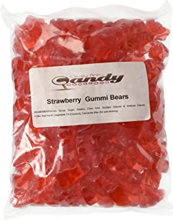 product image for Albanese Strawberry Gummi Bears, 1.5 LB
