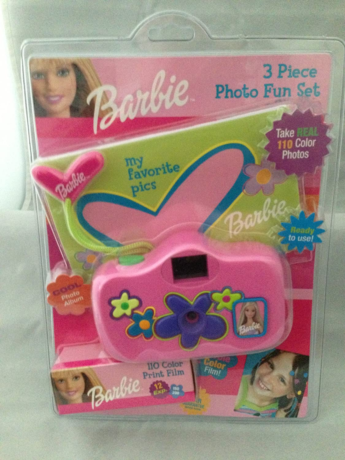 1995 Barbie 3 Piece Photo Fun Set