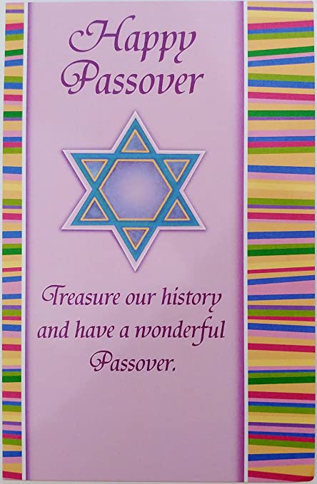 Amazon wishing you joy and blessings as you gather to wishing you joy and blessings as you gather to celebrate passover greeting card jewish holiday m4hsunfo
