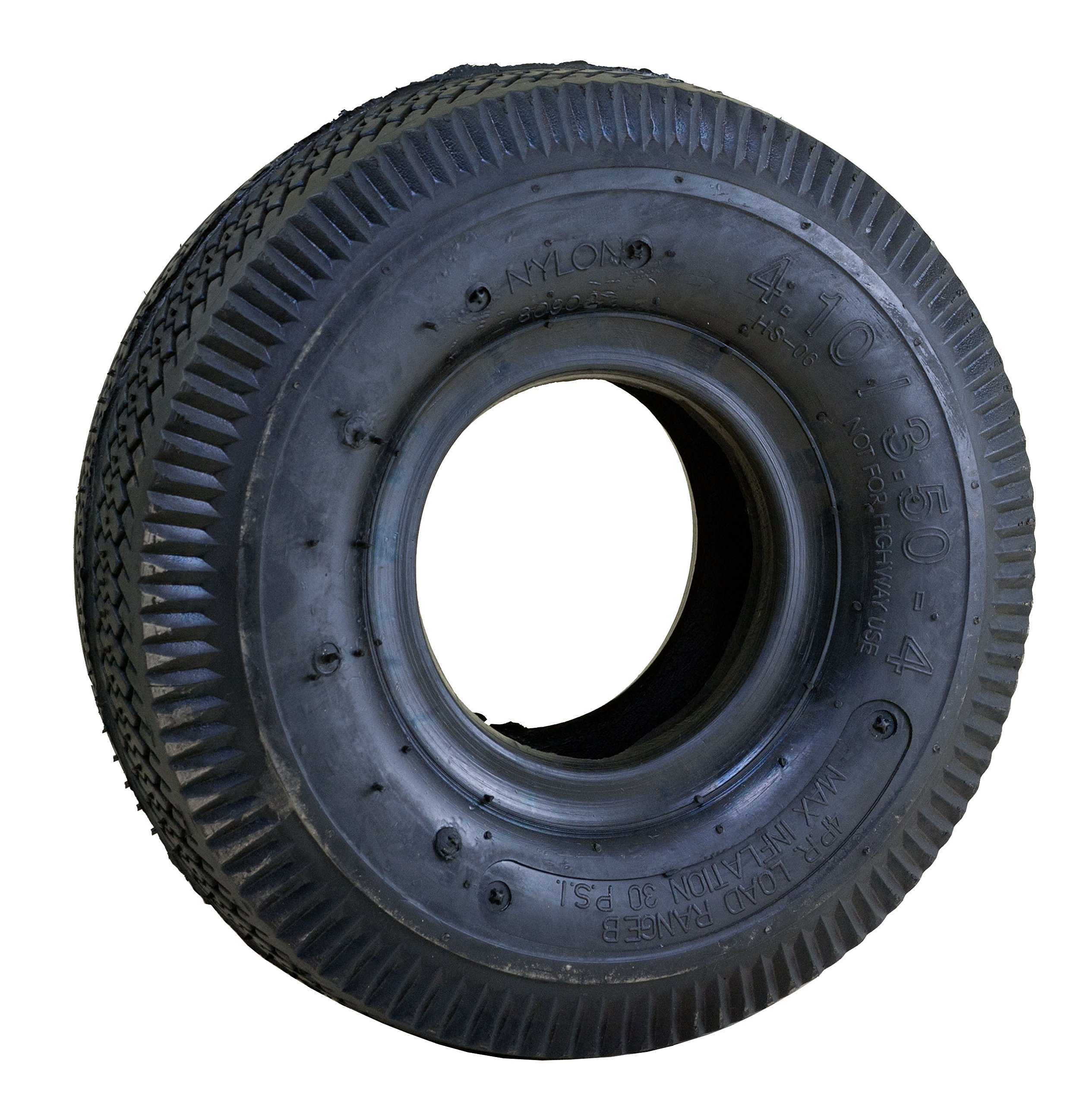 Marathon 4.10/3.50-4'' Pneumatic (Air Filled) Hand Truck/All Purpose Utility Tire and Inner Tube