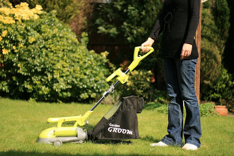 Garden Groom Pro Self Bagging Electric Hedge Trimmer Garden Ftempo