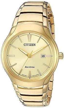 4146fea1175d0 Amazon.com  Citizen Men s  Dress  Quartz Stainless Steel Casual ...