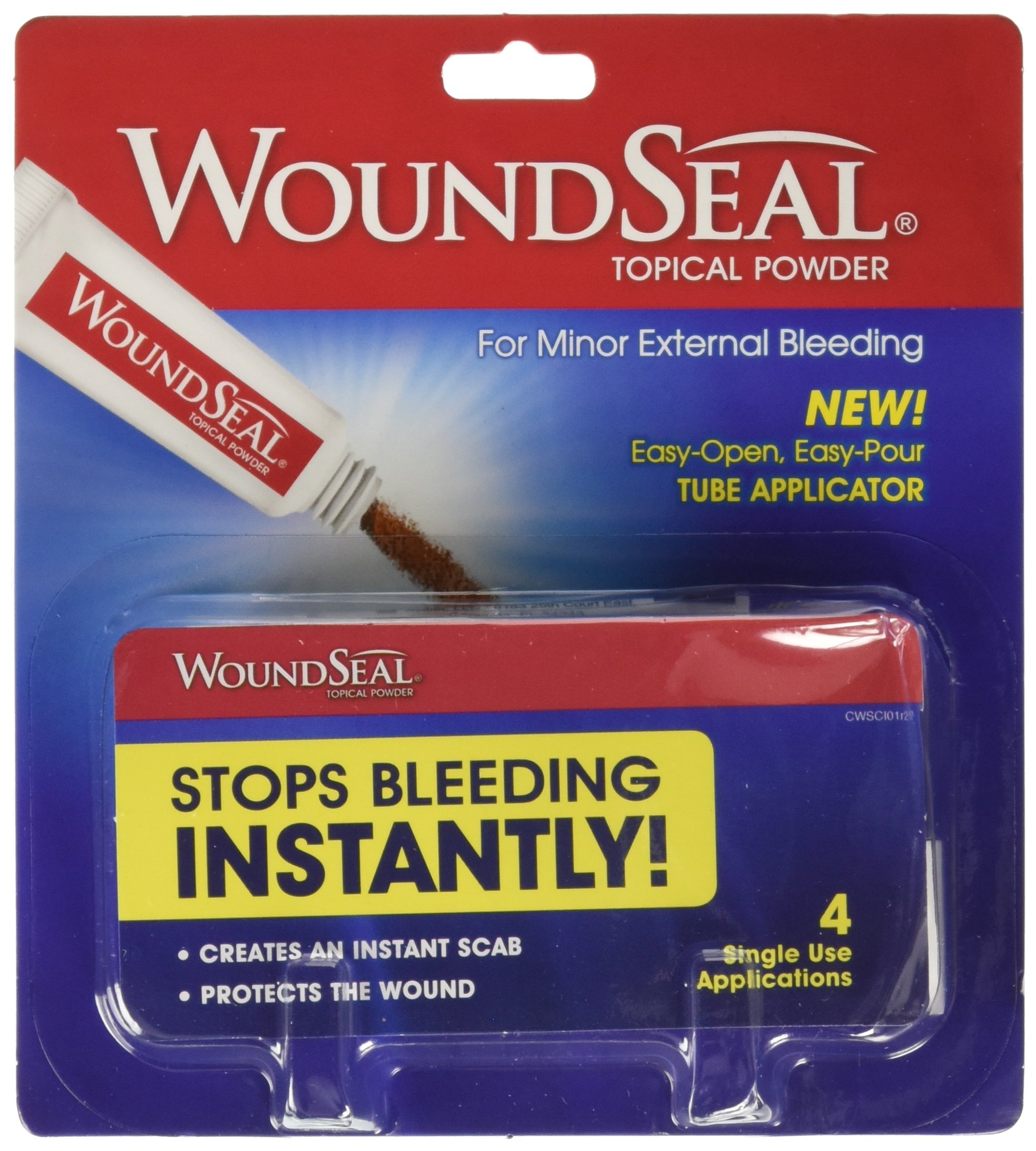 WoundSeal Powder, 4 ea (Pack of 2) by Biolife, LLC.
