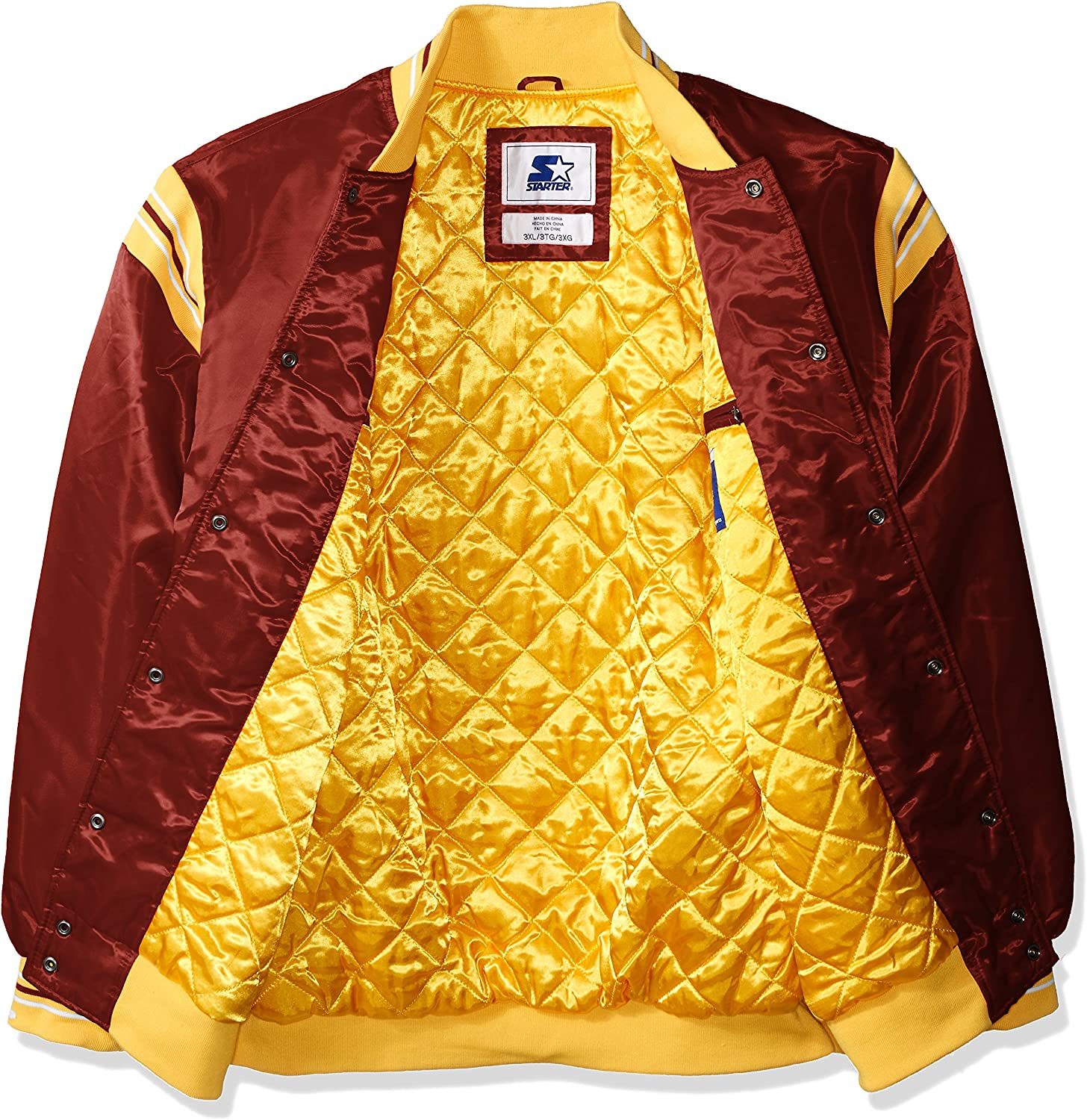 Starter Mens The Enforcer Retro Satin Jacket