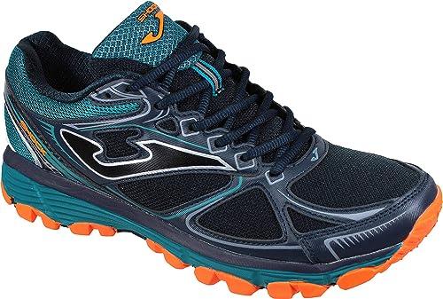 Joma Shock Men 903 Negro-Azul - Zapatillas Trail-Runing Hombre (40 EU