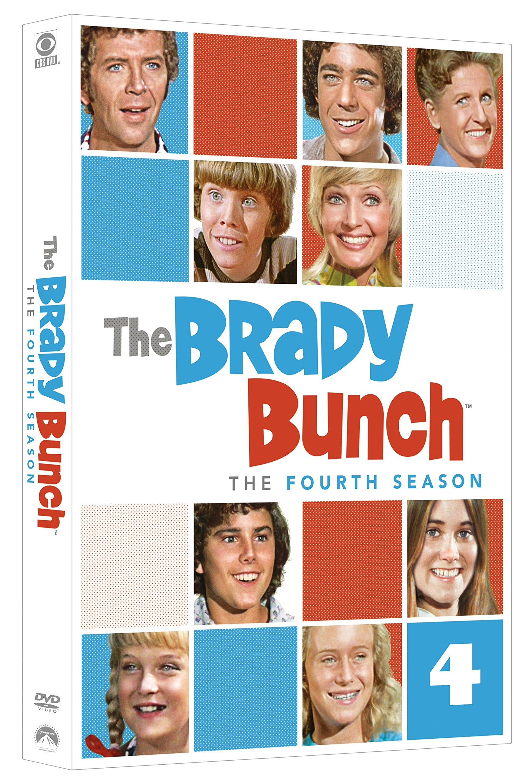 DVD : The Brady Bunch: The Fourth Season (Boxed Set, Full Frame, Repackaged, Mono Sound, 4PC)