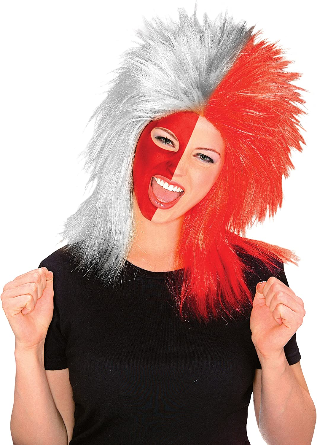 Rubie's Costume Red and Afro Fun Wig