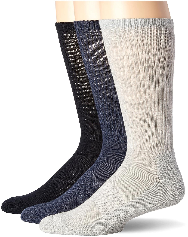 McGregor Men's Athletic Crew Socks Asst.C60 One Size 14743-C60