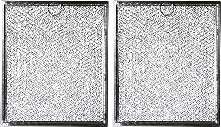Amazon.com: Filtro de grasa para microondas WB6X486 repuesto ...