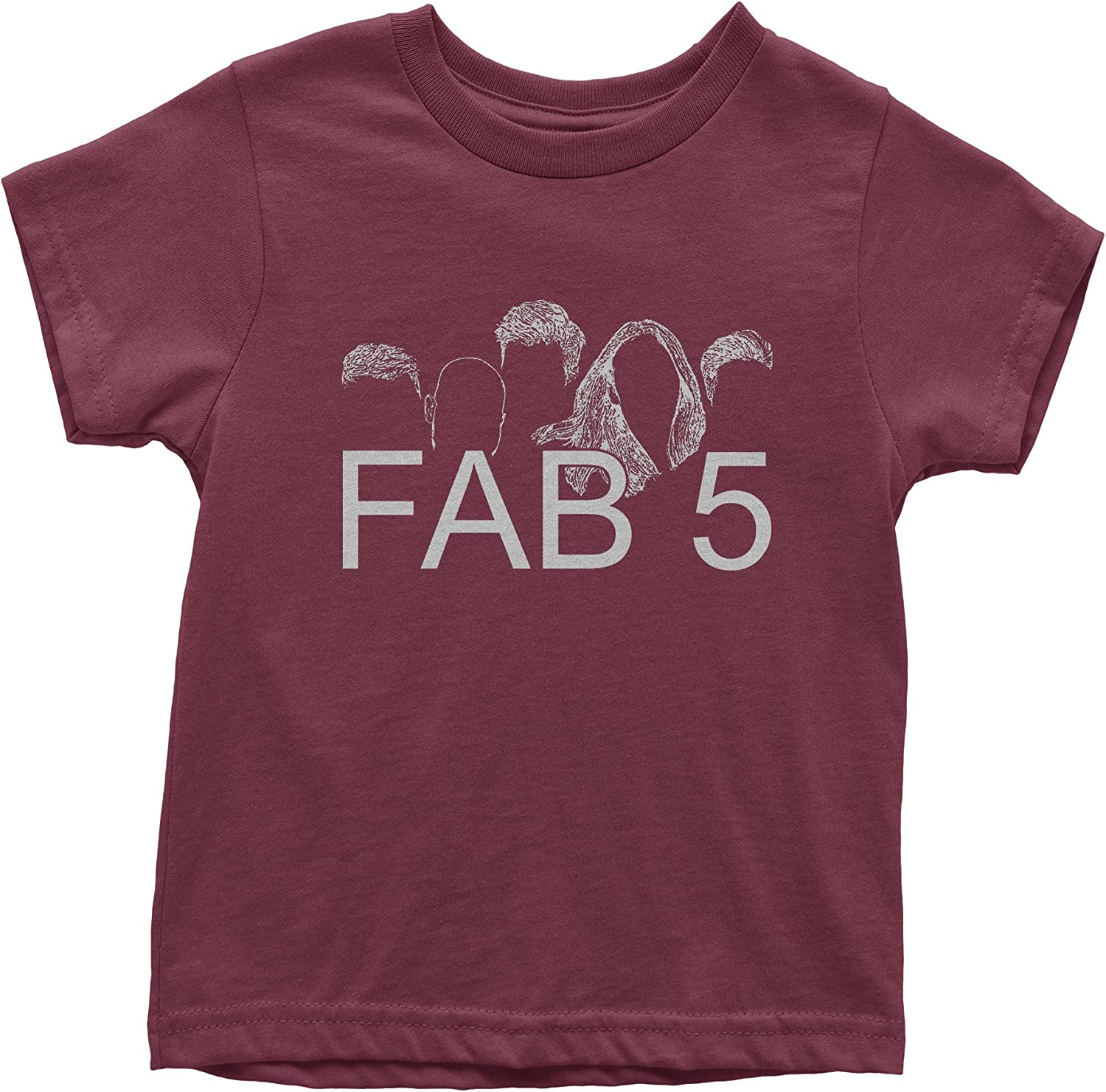 FerociTees Queer Fab 5 Youth T-Shirt