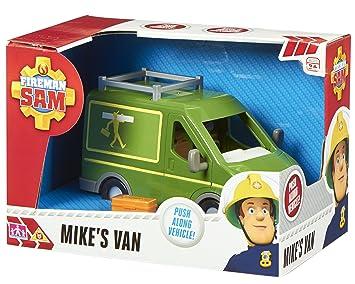 Fireman Sam Character Options Mikes Van 4040, Accesorio para playsets Sam el bombero