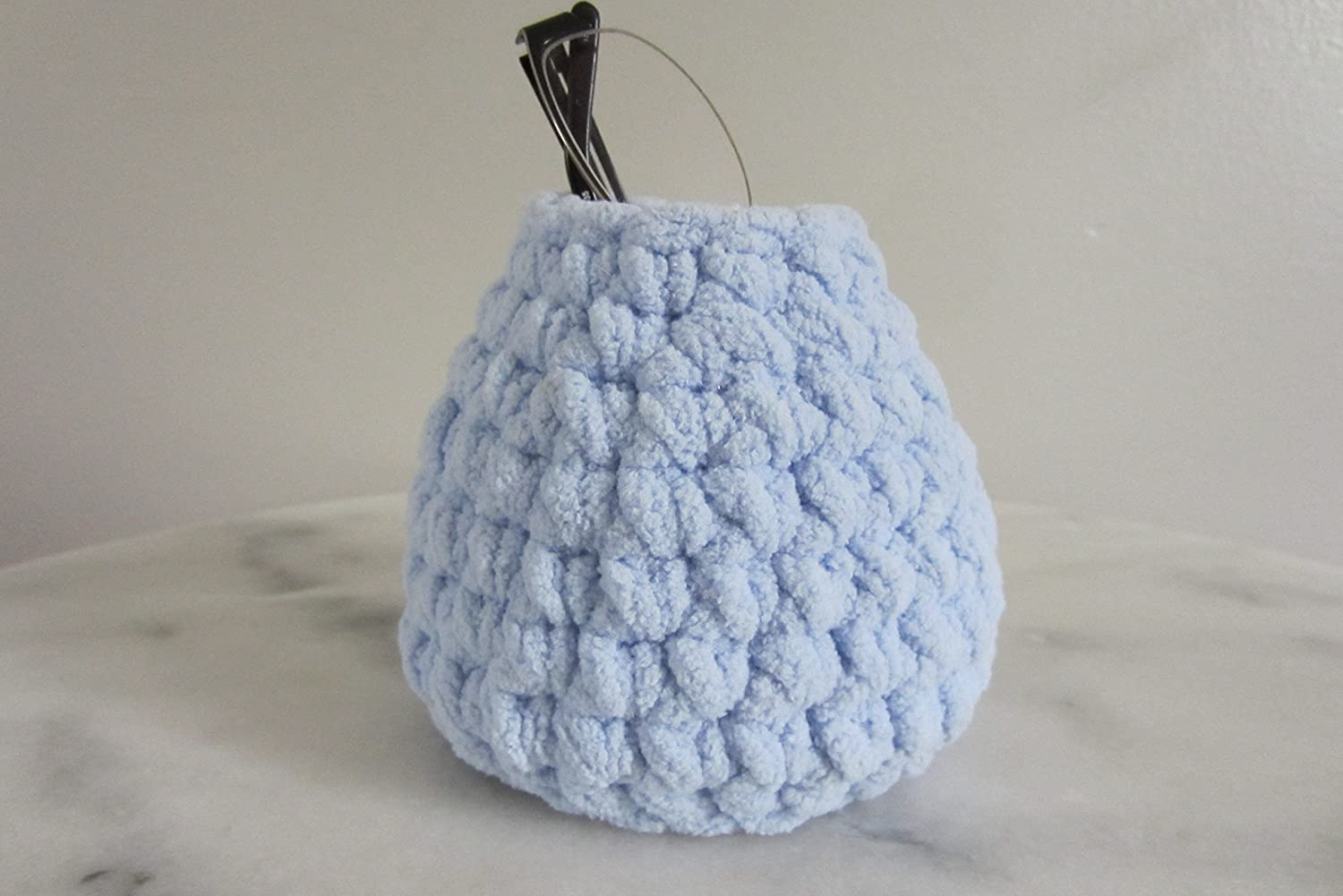 Eyeglass Stand, Upright Glasses Holder, Basket style Case, Pod Shaped - Many Colors to Choose from