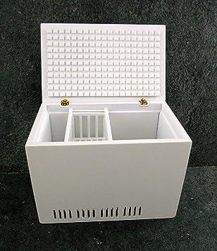 Amazon.es: Arcón Congelador de Carga Superior en Miniatura ...