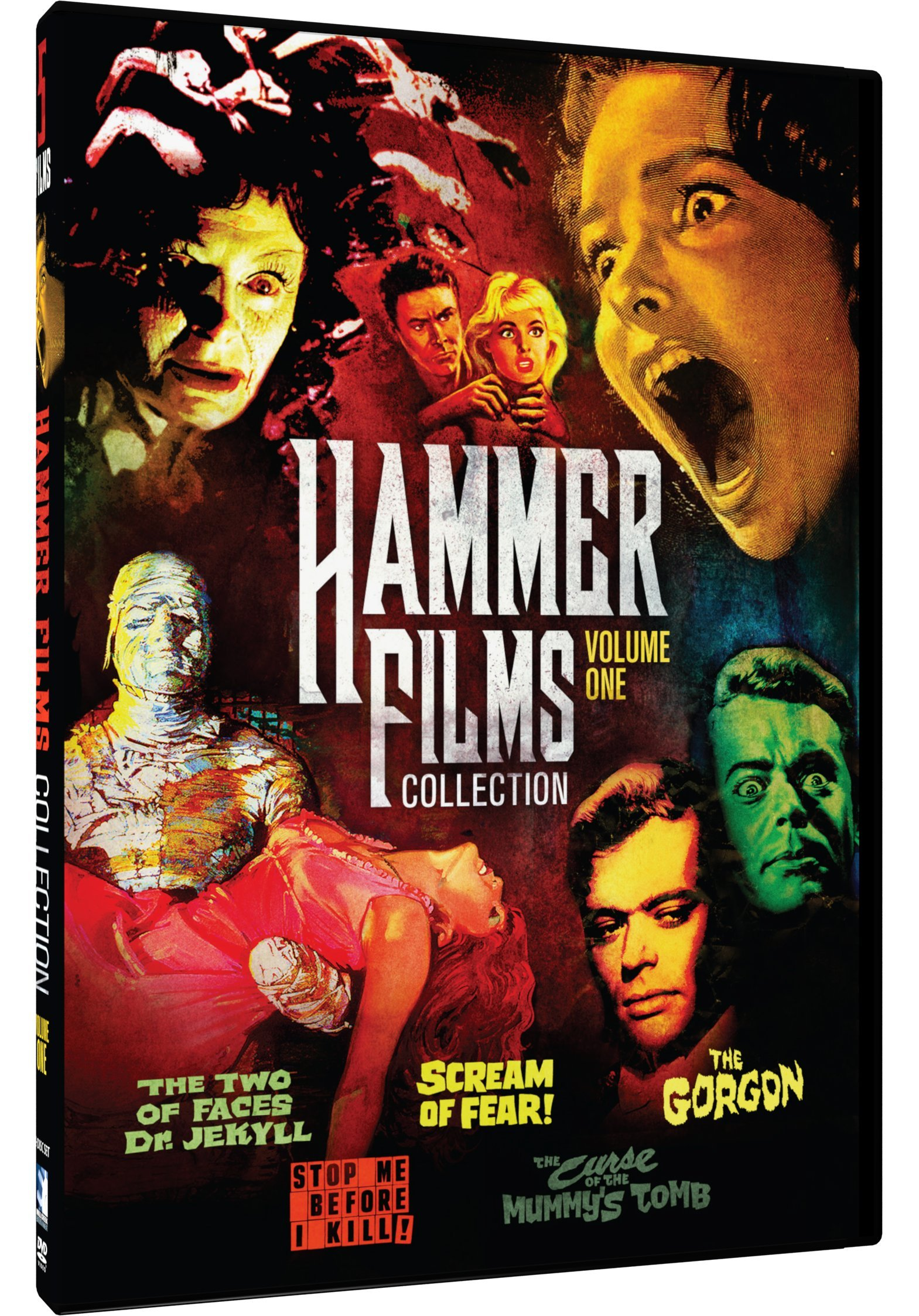 DVD : Hammer Film Collection, Vol. 1 - 5 Movie Pack (2 Pack, 2 Disc)
