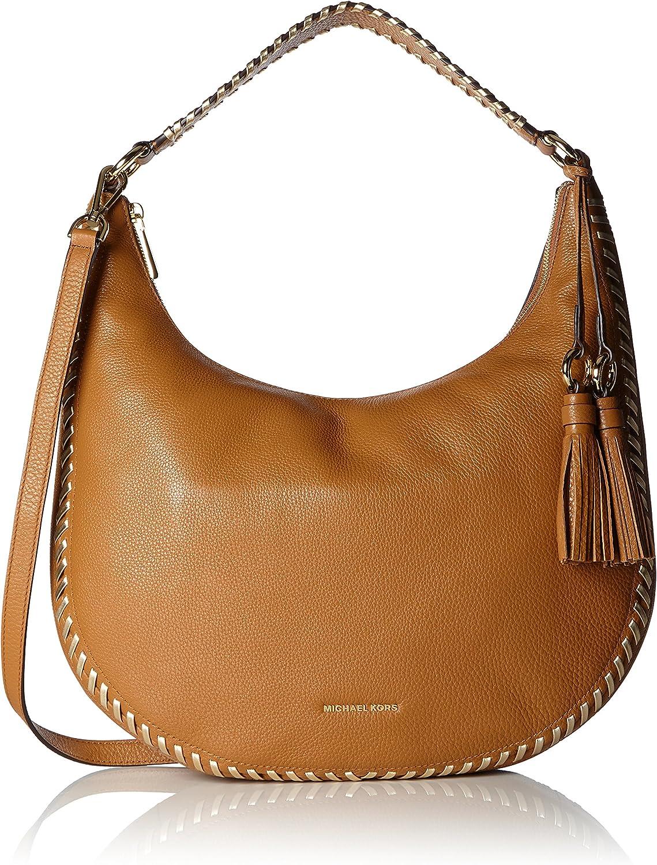 Michael Kors Lauryn, Women's Shoulder Bag, Braun (Acorn), 5.7x26.7x39.4 cm (B x H T)