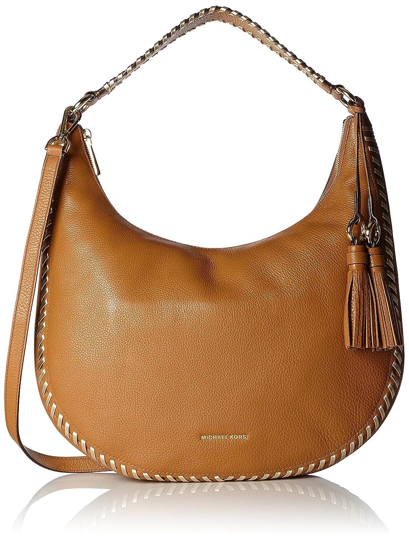49d4358fe8d0 Michael Kors Lauryn, Women's Shoulder Bag, Braun (Acorn), 5.7x26.7x39.4 cm  (B x H T)