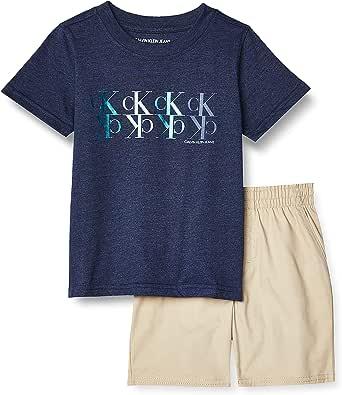 Calvin Klein Baby Boys' 2 Pieces Shorts Set