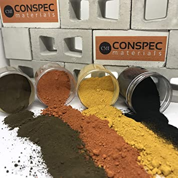 Pigment Cement Mortar Colorant Grout Conspec 3 Lbs CHOCOLATE BROWN Powdered Color for Concrete Plaster