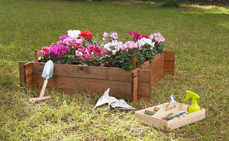 Huerto urbano Seed 100 Catral 75010001 20 x 100 x 100 cm madera de pino