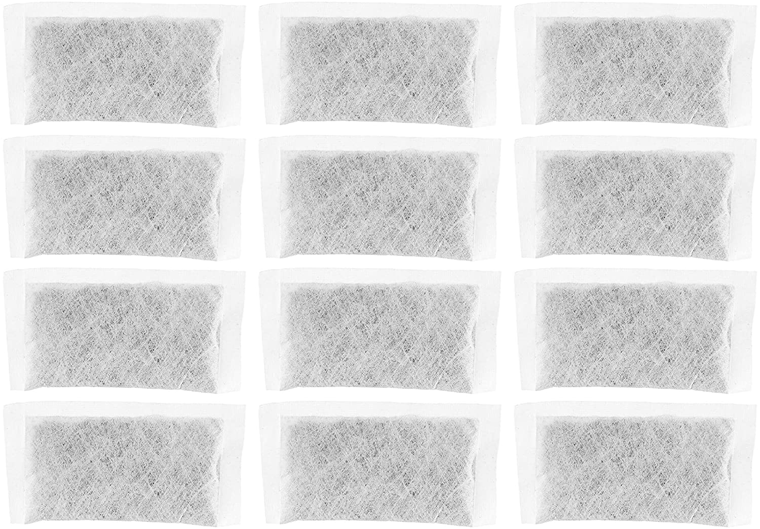 Nispira Replacement Activated Charcoal Water Filters for Megahome and Other Countertop Water Distiller, 12 packs
