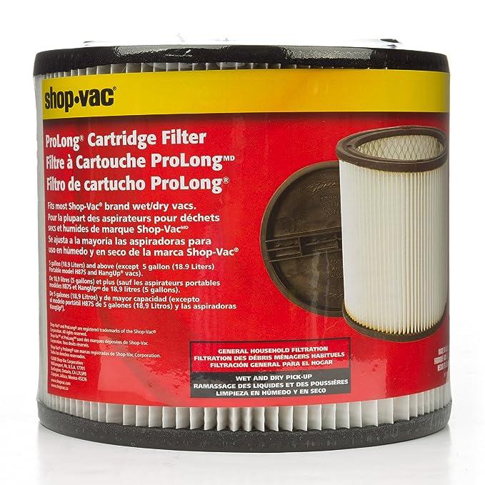 Amazon.com: Cartucho de filtro Shop-Vac 90304: Home Improvement