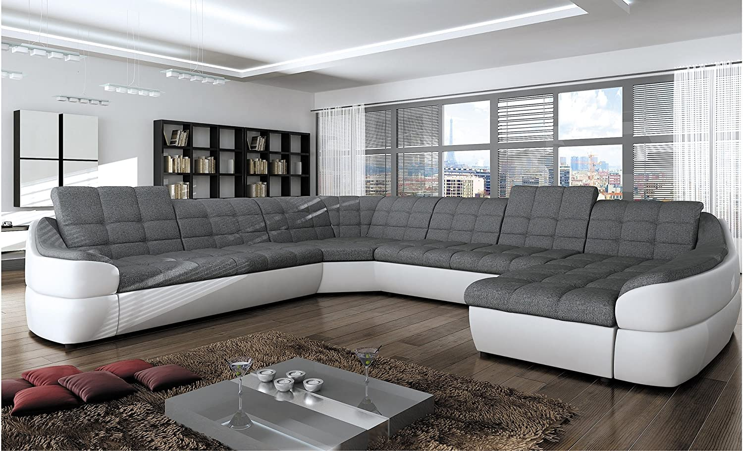 6 Seater Corner Lounge With Sofa Bed Review