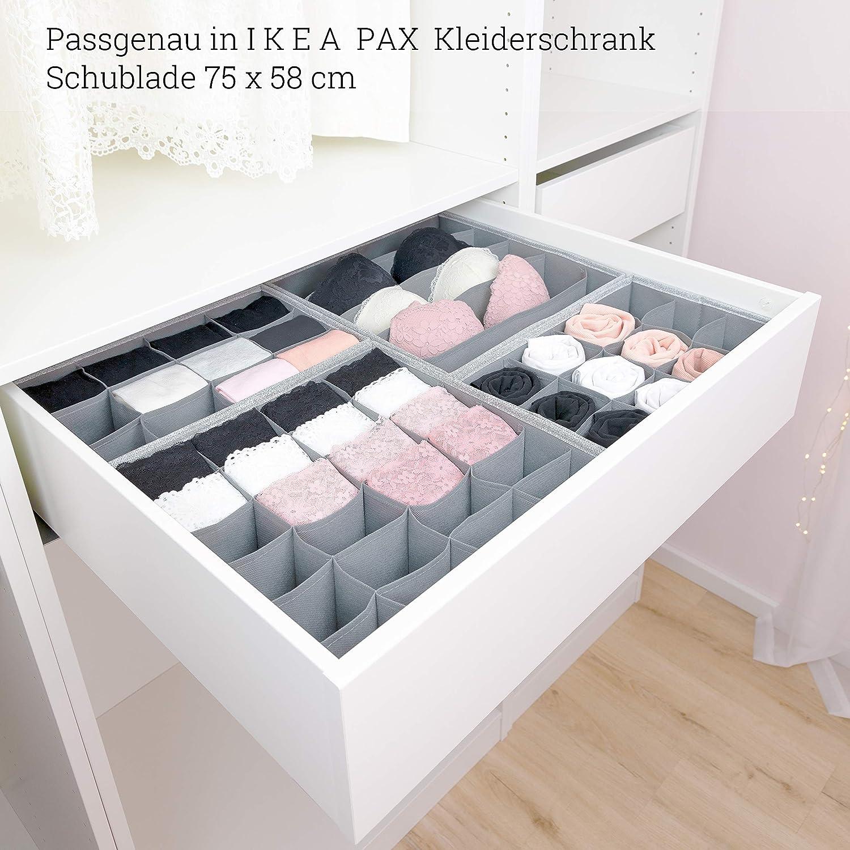 Simple Joy Schubladen Organizer Passgenau Fur I K E A Stabiler