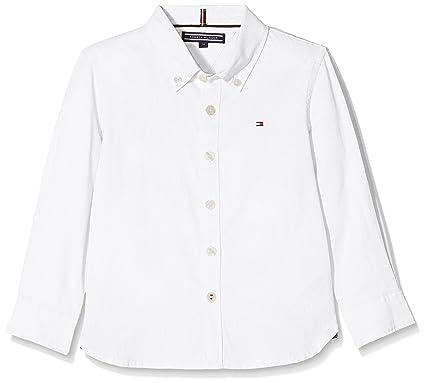 Tommy Hilfiger Jungen Hemd AME Stretch Oxford Shirt L S  Amazon.de   Bekleidung 7abbb9ec9b