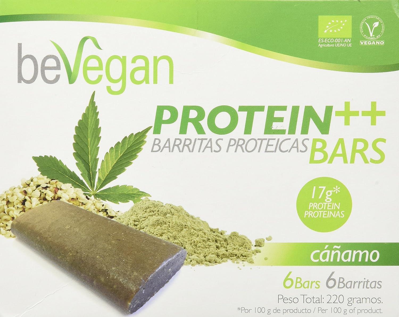 beVegan Protein Bars Cáñamo - 200 gr: Amazon.es: Alimentación ...