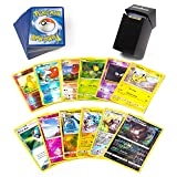 100 Pokemon Cards 12 Foil Holos Included Plus