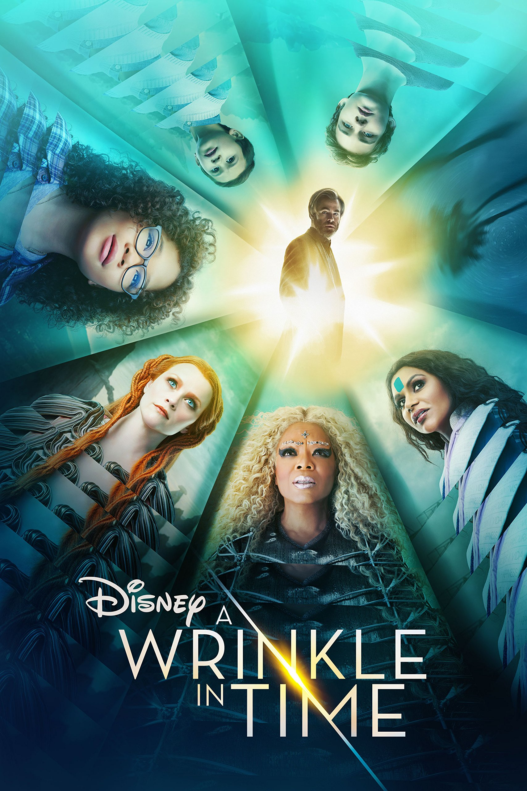 Book Cover: A Wrinkle in Time