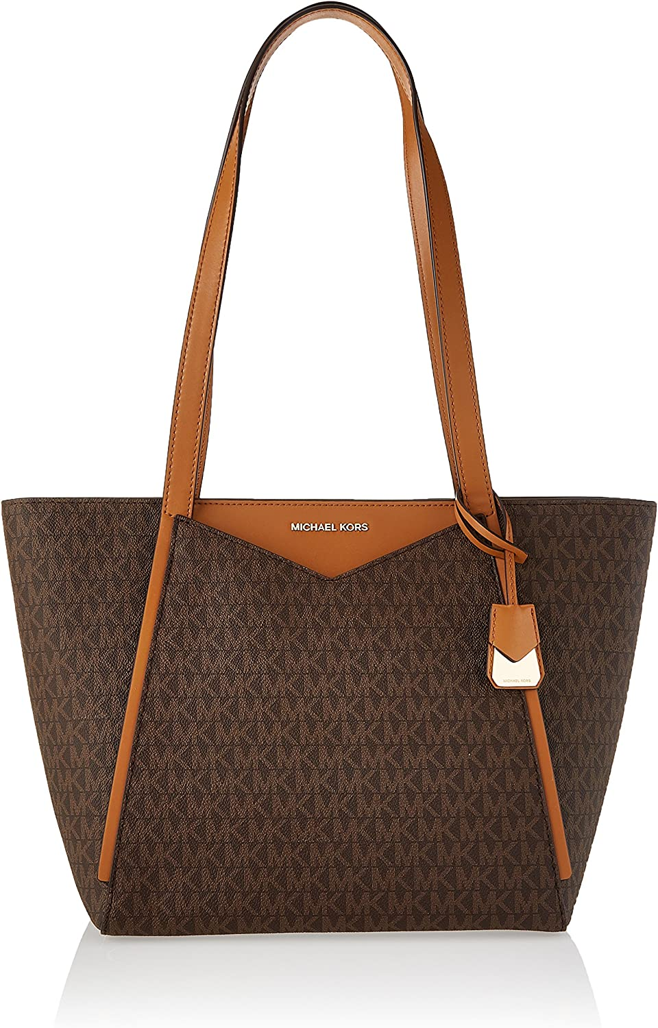 MICHAEL Michael Kors Whitney Small Top Zip Tote, Brown