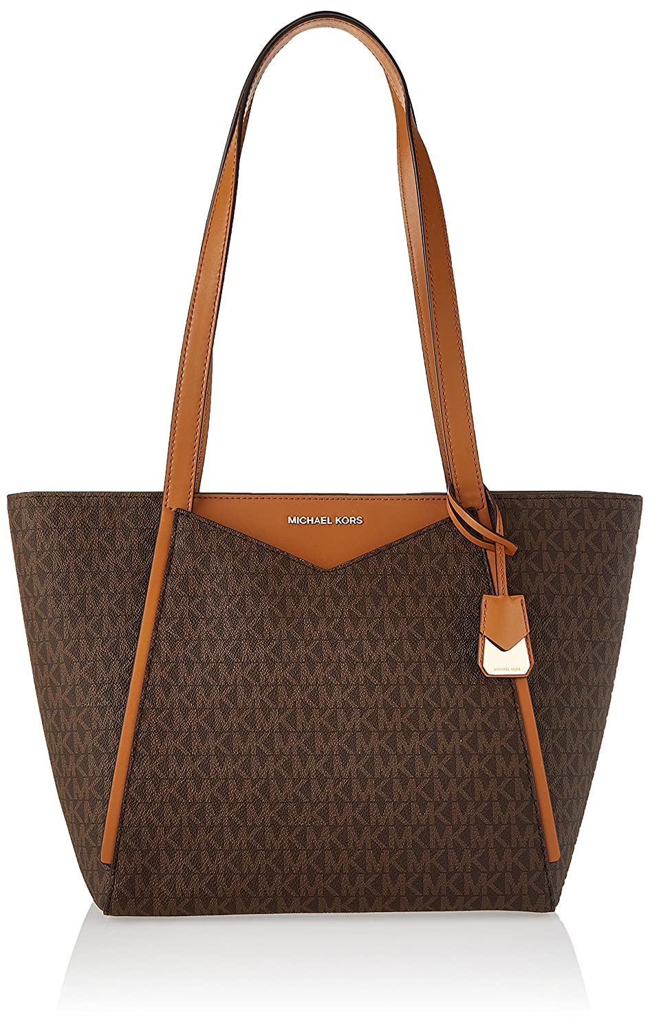 af0a792ac9c35 Michael Kors Womens M Tote Group Sm Tz Tote Tote Brown (Brown)  Handbags   Amazon.com