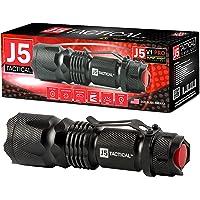 J5 Tactical V1Pro Flashlight The Original 300 Lumen Ultra Bright w/LED 3 Mode (Black)