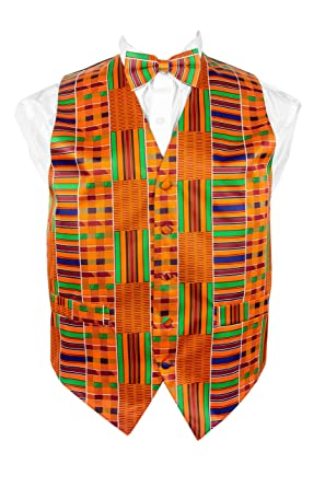514bd69471b7 Image Unavailable. Image not available for. Color: African Kente Print, Vest  Set