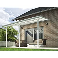 Chalet-Jardin Terraza de Aluminio Techo Aurora Blanco 4