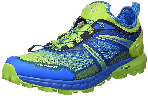 Mammut SERTIG Low, Zapatillas de Trail Running para Hombre, Azul (Imperial/Sprout 000), 44 EU: Amazon.es: Deportes y aire libre