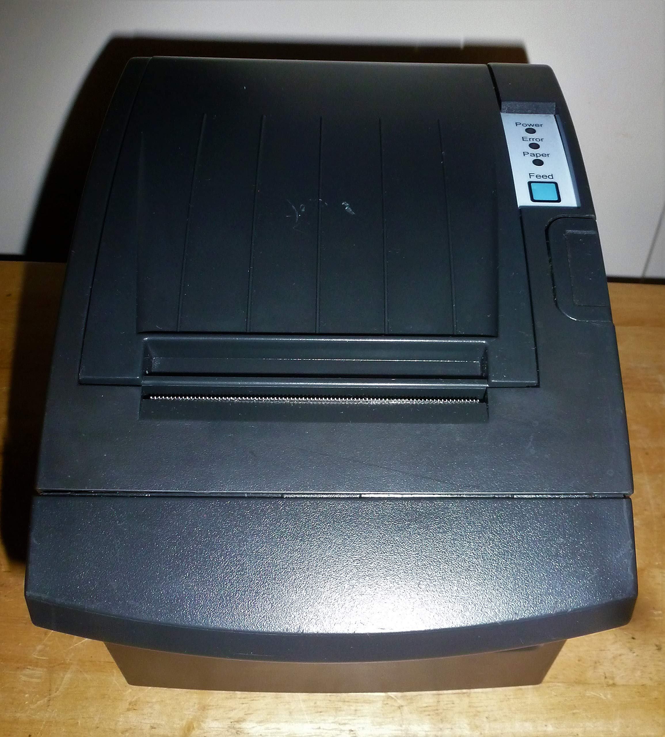 Bixolon SRP-350PLUSIIICOSG Thermal Printer with Power Supply and USB Cable, Serial/USB/Ethernet, Black by BIXOLON (Image #1)