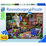 Ravensburger The Attic Large Format Jigsaw Puzzle (500 Piece)