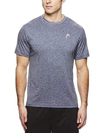 52a2c64455aef HEAD Men's Crewneck Gym Training & Workout T-Shirt - Short Sleeve  Activewear Top