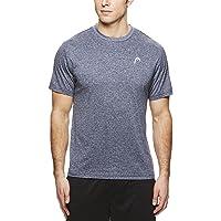 6a18571a00af60 HEAD Men's Crewneck Gym Training & Workout T-Shirt - Short Sleeve  Activewear Top