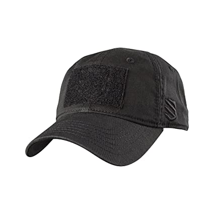 7a7af7fe06d Amazon.com  BLACKHAWK! EC01BKOS One Size Black Tactical Cap  Sports ...
