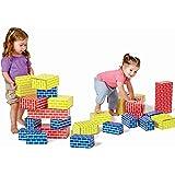 Edushape Corrugated Blocks, 52 Piece