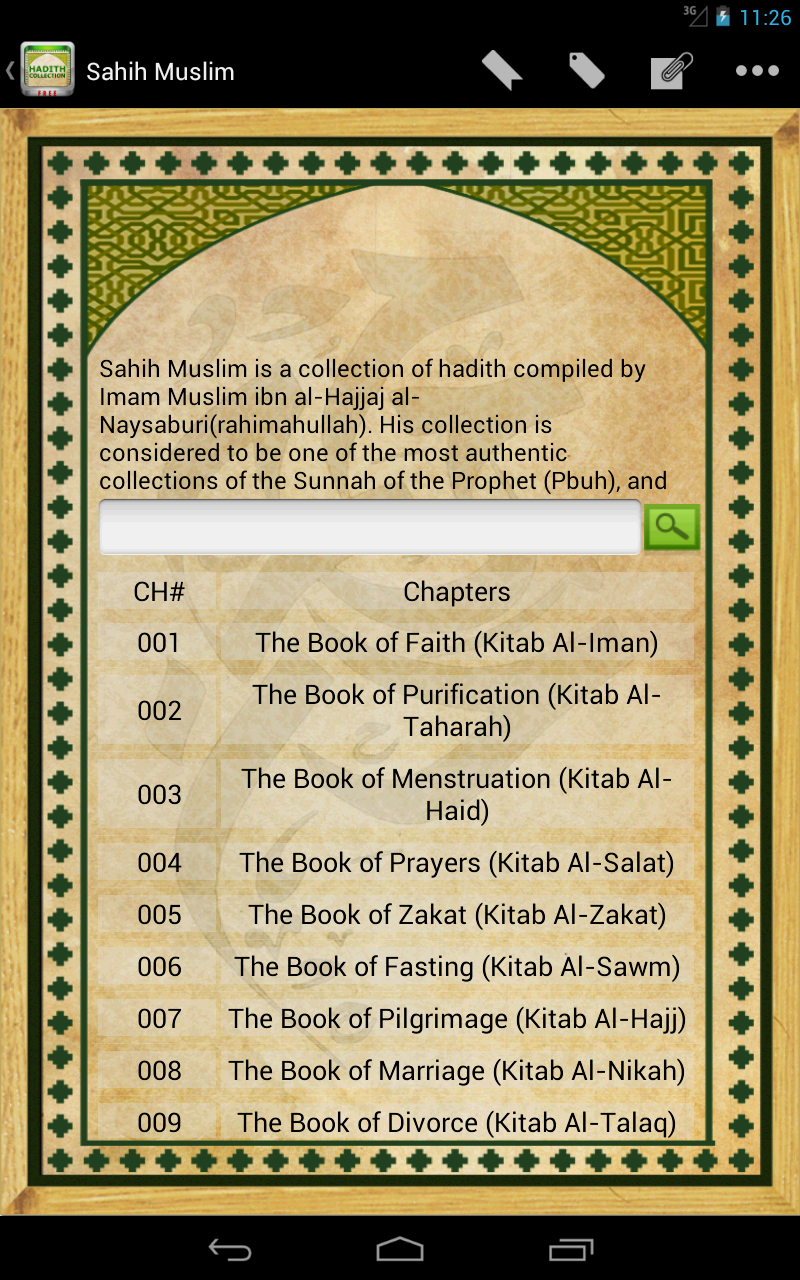 Lives and Works of the great Imams of the Hadith (Malik