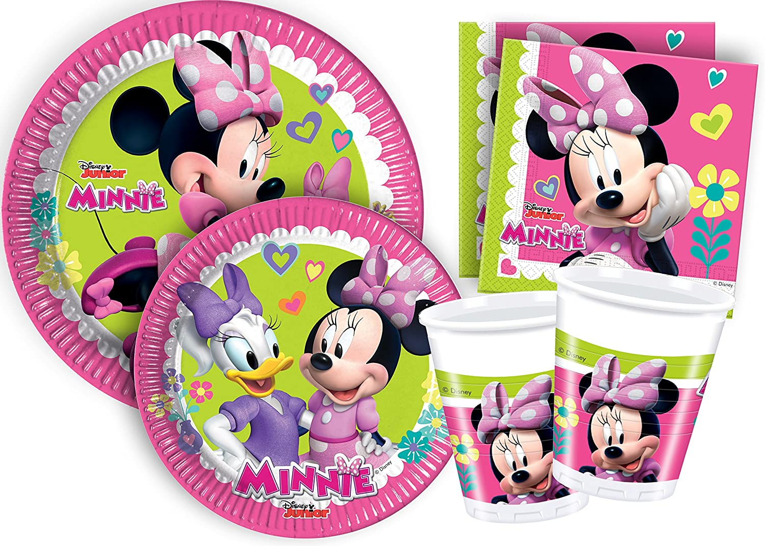 Ciao Kit Party Tabla Disney Minnie Happy Helpers S (8 persone) Multicolor