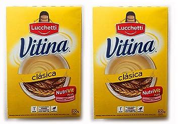 VITINA Clasica Alimento a Base de Semola y Trigo 500 gr.- 2 Pack |