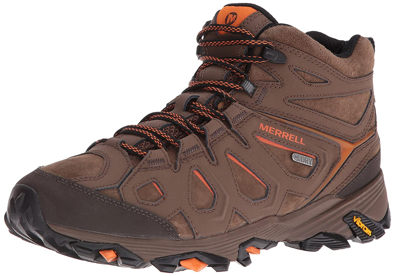 Merrell Mens Moab FST LTR Mid Waterproof Hiking Boot