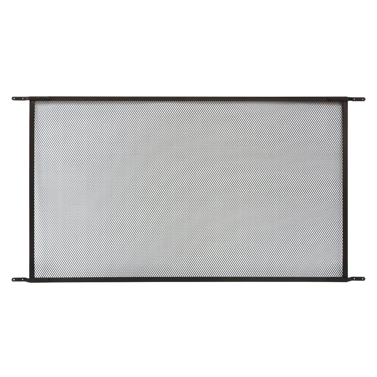 Prime-Line Products PL 15942 Patio Sliding Screen Door Grille, Fits 48 In. Doors, Aluminum Construction, Bronze by Prime-Line Products