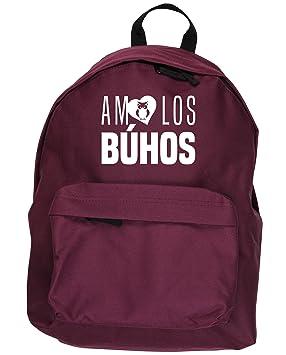 HippoWarehouse AMO LOS BÚHOS kit mochila Dimensiones: 31 x 42 x 21 cm Capacidad: 18 litros: Amazon.es: Equipaje